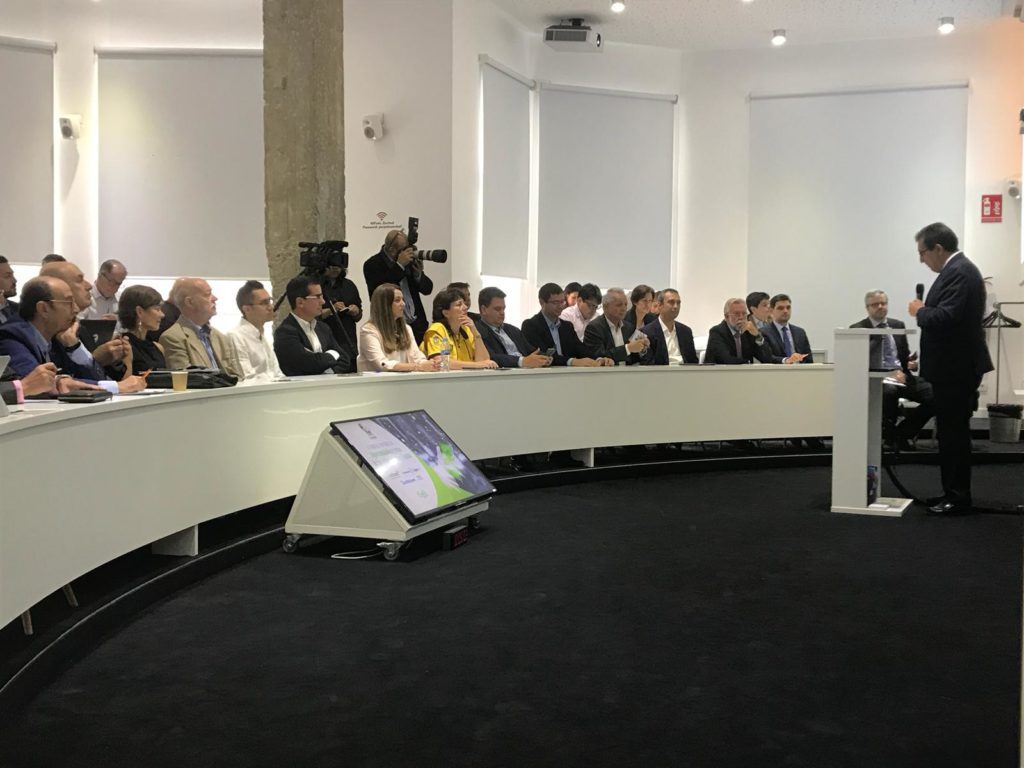 Antonio Pulido, durante su intervención en el II Foro El Español