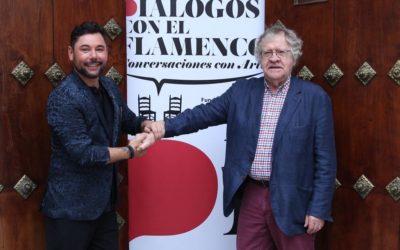 Miguel Poveda e Ian Gibson ponen el broche de oro al ciclo 'Diálogos con el Flamenco' en Sevilla