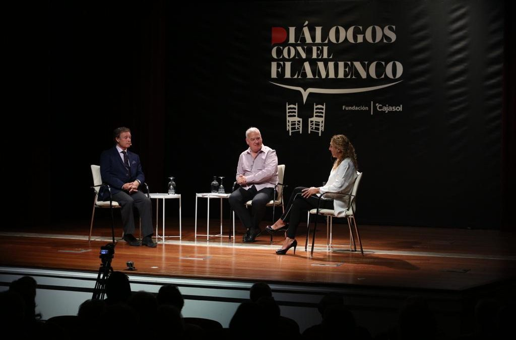 Diálogos con el Flamenco: Esperanza Fernández y Pepe Luis Vázquez en 'Flamenco y Toros'