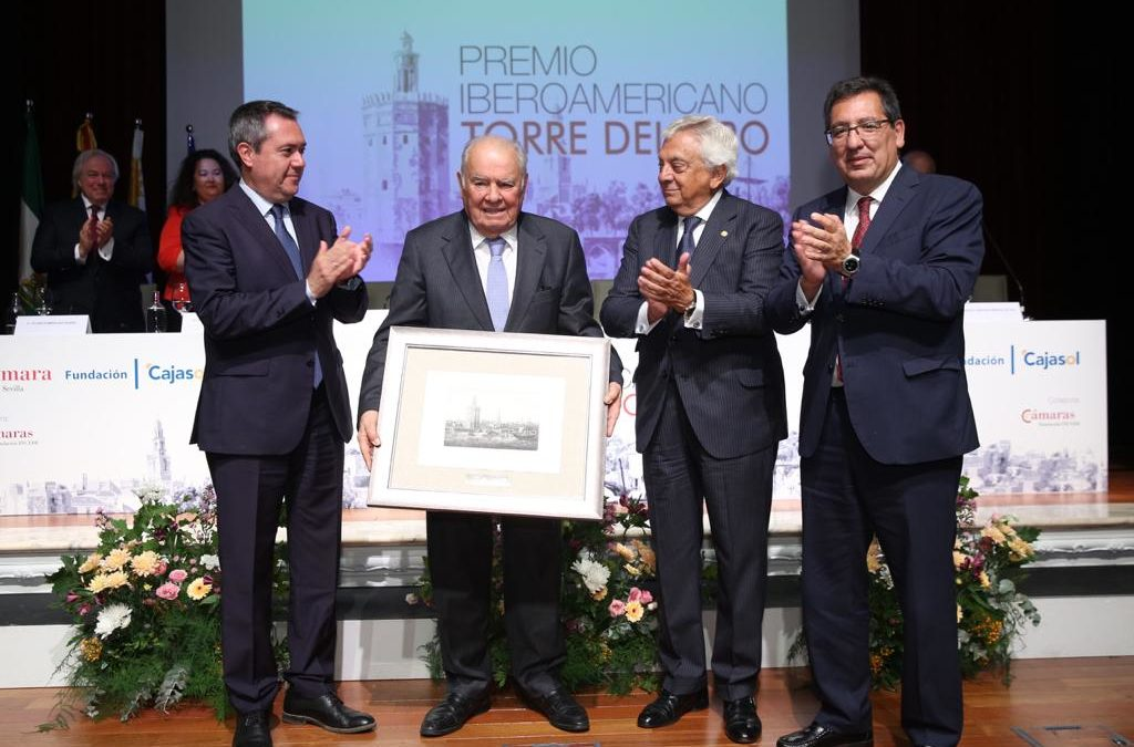 Enrique Valentín Iglesias, Premio Iberoamericano Torre del Oro 2018