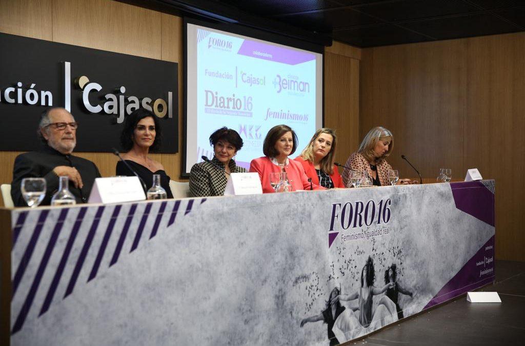 Soledad Murillo, Lydia Cacho y Cristina del Valle inauguran 'Foro16' en Sevilla, un espacio de encuentro y debate hacia la igualdad real