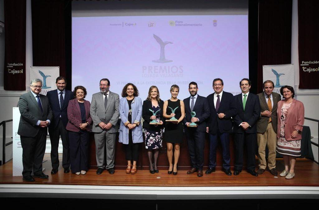 Entrega de los VI Premios Manuel Losada Villasante en Sevilla