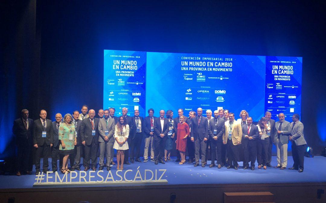 Convención Empresarial 2018: Empresarios de Cádiz, unidos por un mundo en cambio y una provincia en movimiento