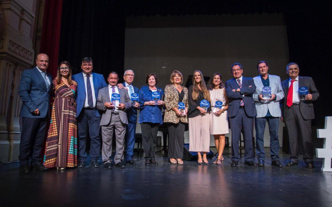 Entrega de los Premios Cajasol Buena Gente de Huelva 2018