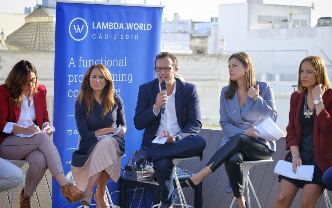 Lambda World abre su semana de actividades con una mesa redonda para debatir sobre el futuro del sector tecnológico en la Bahía de Cádiz