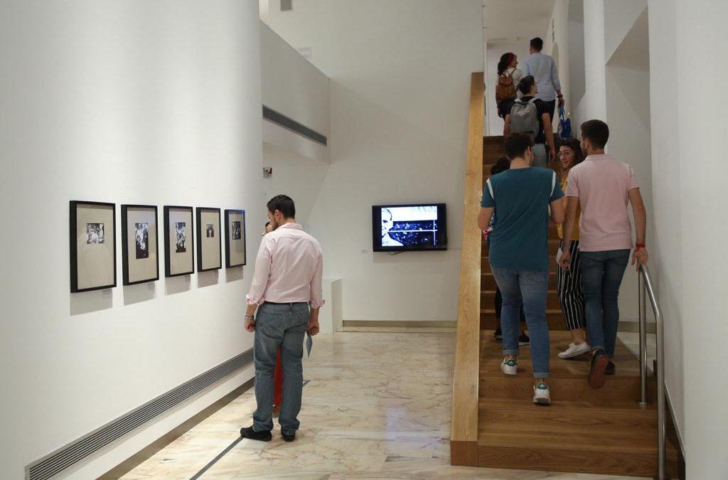 Música y literatura en la Fundación Cajasol durante la Noche en Blanco Sevilla 2018