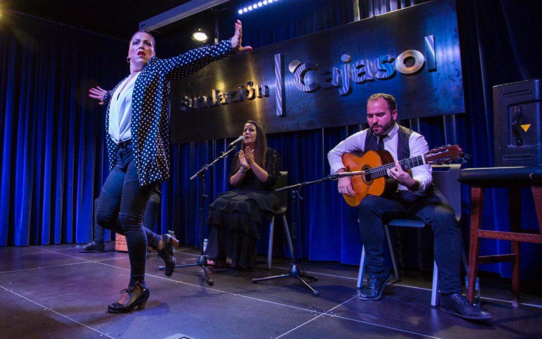 Rocío Fernández, en el III Festival Flamenco 'Ciudad de Huelva' desde la Fundación Cajasol