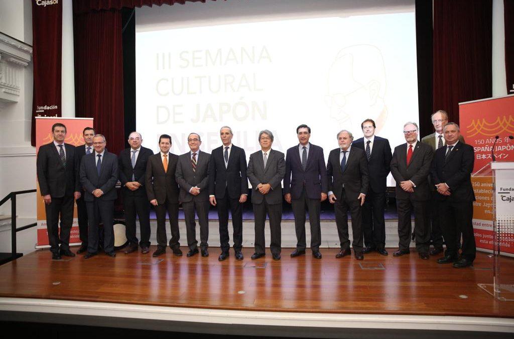 La Fundación Cajasol colabora en la III Semana Cultural de Japón en Sevilla
