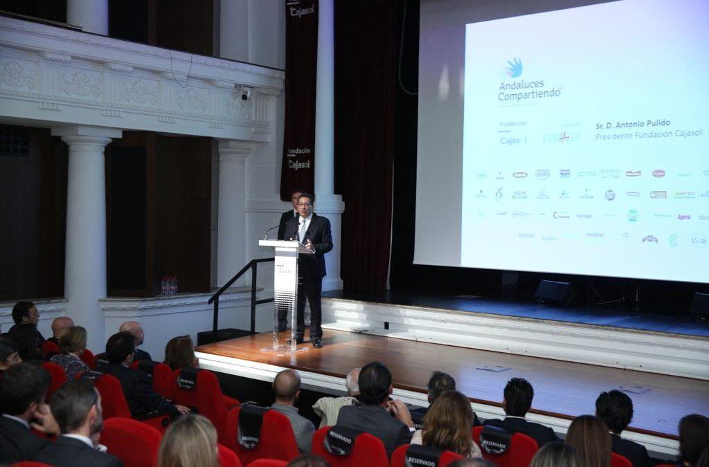 VI Gala Benéfica Andaluces Compartiendo en la Fundación Cajasol
