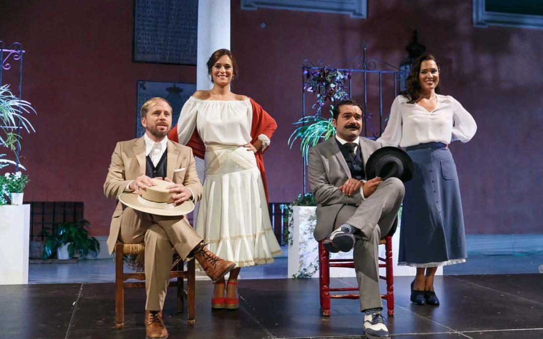 Fantástica representación de 'Sangre gorda' y 'Ganas de reñir' en el IV ciclo 'Letras en Sevilla'