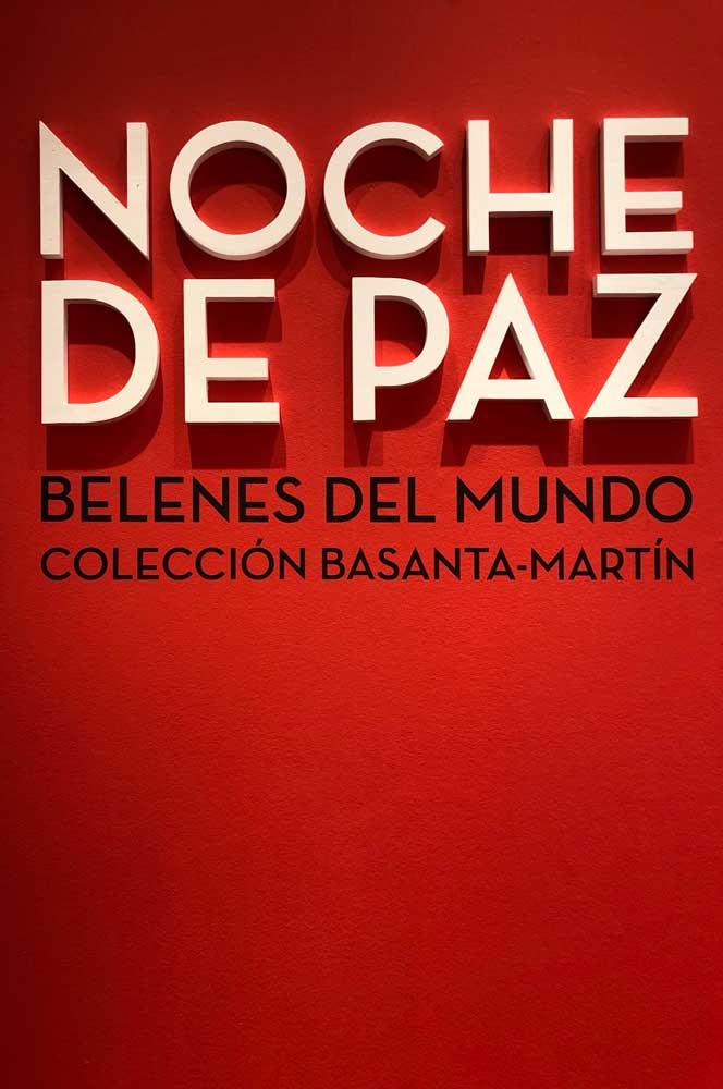 Cartel de la exposición 'Noche de Paz. Belenes del Mundo' en Sevilla
