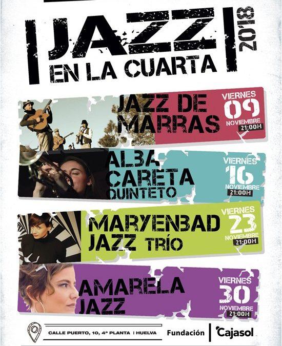 Los viernes de noviembre suenan a ritmo de 'Jazz en La Cuarta' de la Fundación Cajasol en Huelva