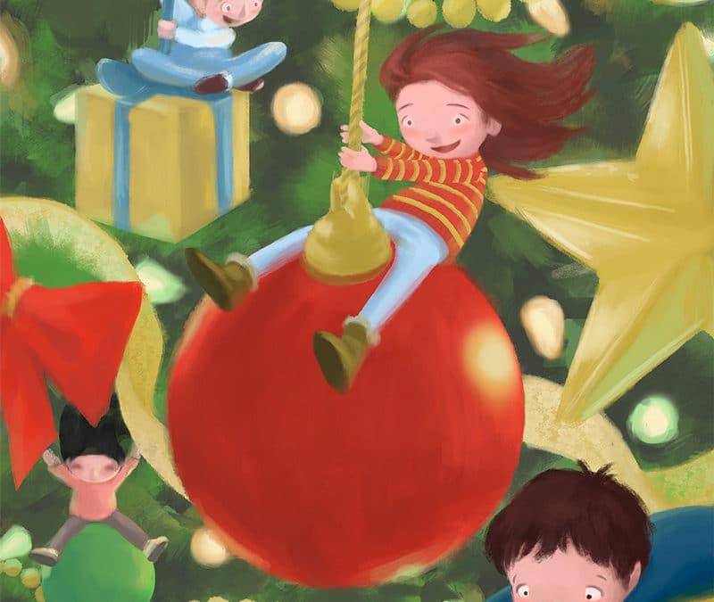 La obra 'Mágica Navidad', de Tania Ávila Villalba, ilustrará 'Los Gozos de Diciembre' 2018 de la Fundación Cajasol