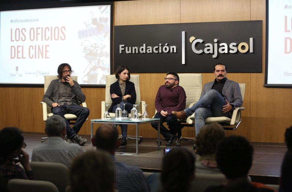 El ciclo 'Los Oficios del Cine' finaliza su primera temporada debatiendo sobre la dirección en la Fundación Cajasol