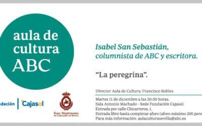Isabel San Sebastián explica los secretos de su novela 'La peregrina' en el Aula de Cultura de ABC en Sevilla