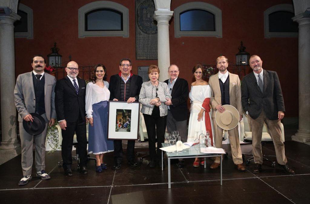 Gemma Cuervo y Emilio Gutiérrez Caba, historia del teatro en la IV edición de 'Letras en Sevilla'