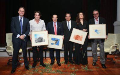 Curro Romero y Carlos Herrera, la esencia de diez años de 'Mano a Mano' en la Fundación Cajasol
