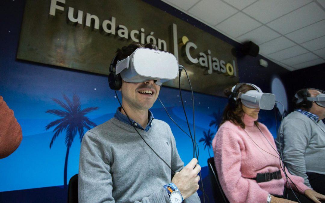 La Fundación Cajasol te invita a vivir la mejor experiencia en Realidad Virtual de estas Navidades en Huelva: 'Viaje a Belén'