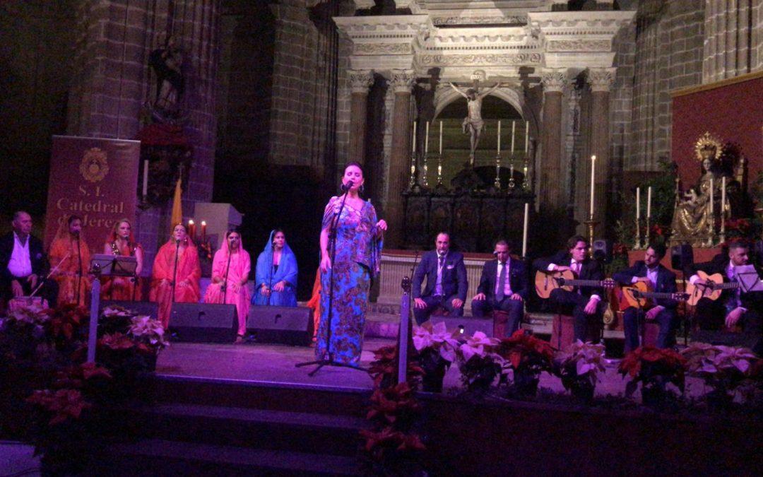 La prodigiosa voz de María José Santiago saca brillo a una 'Navidad flamenca de Oriente a Jerez'
