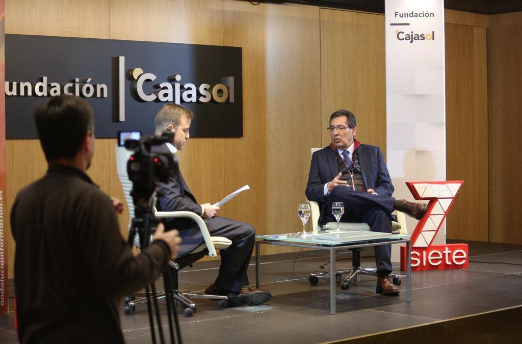 Entrevista a Antonio Pulido en el programa 'Acento Andaluz', de 7TV
