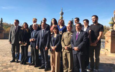 Entrega de los XIV Premios Plaza de España, que reconocen el cumplimiento, la defensa y la difusión de los valores democráticos recogidos en la Constitución Española