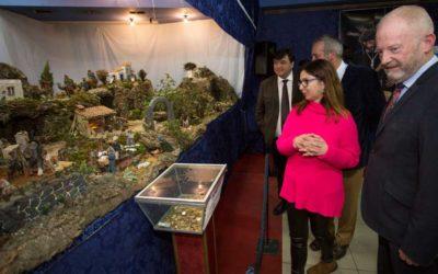 Inauguración oficial del tradicional Belén de Fundación Cajasol en Huelva