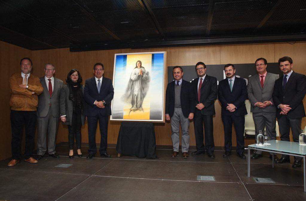 La Fundación Cajasol adquiere la obra pictórica de la Inmaculada de Ricardo Suárez