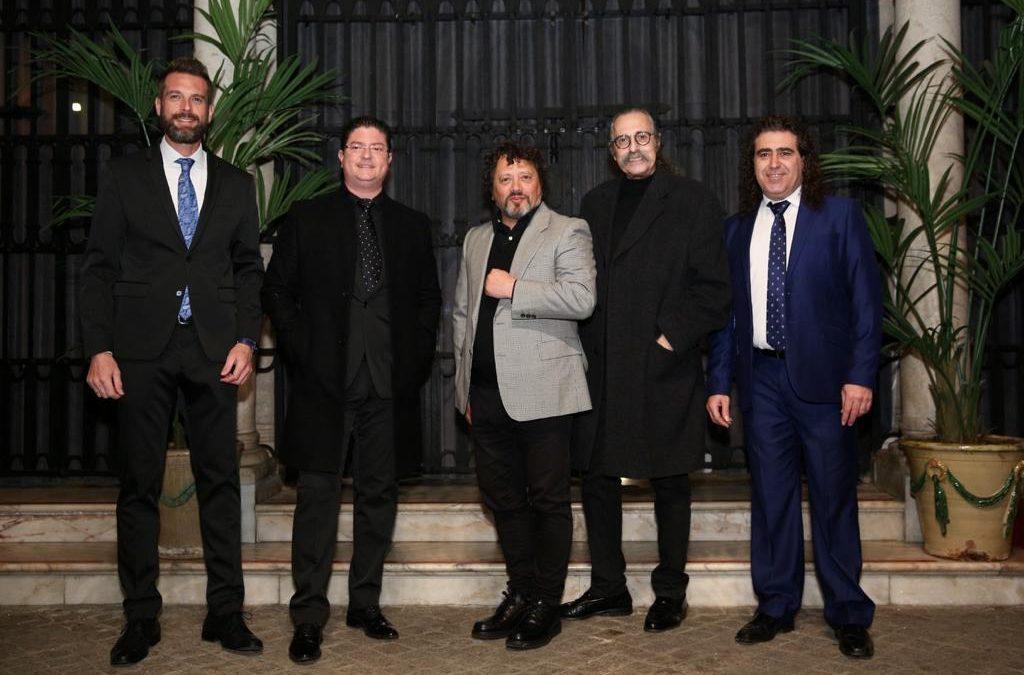 Presentación del nuevo disco de Pascual González y Cantores de Híspalis, homenaje a Magallanes y Elcano