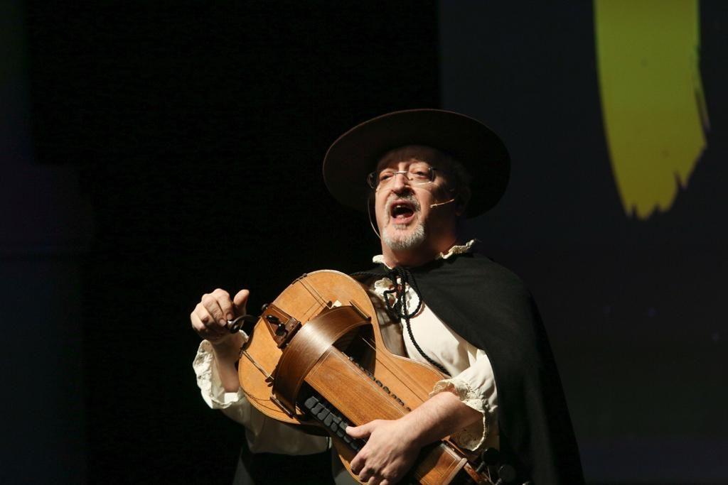 Presentación del disco 'Tierra', de Cantores de Híspalis, en la Fundación Cajasol