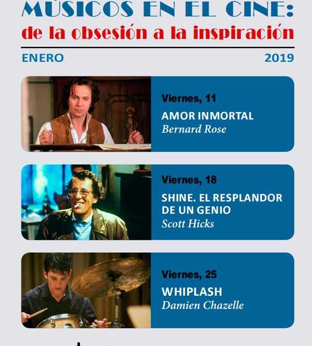 'Músicos en el cine: de la obsesión a la inspiración', en el ciclo de enero en la Fundación Cajasol
