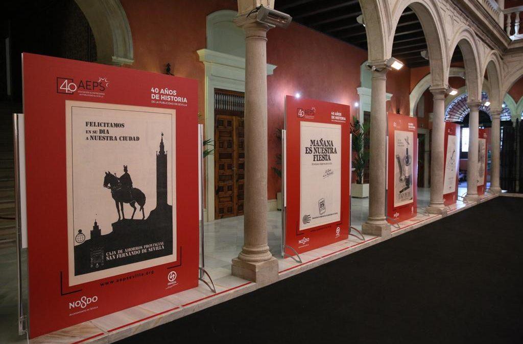 Exposición '40 años de la Historia de la Publicidad en Sevilla', hasta el 3 de febrero en la Fundación Cajasol