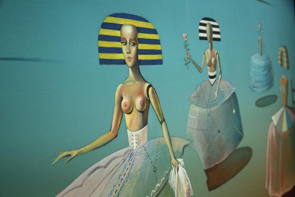 Exposición 'Mística', de Valentín Kovatchev, en la Fundación Cajasol