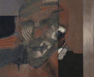 La Fundación Cajasol amplía su colección con la adquisición de la obra 'Cabeza Bacon', de Luis Gordillo