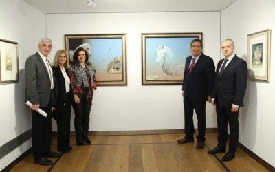 La Fundación Cajasol inaugura el nuevo año en la Sala Murillo con la exposición 'Mística', de Valentín Kovatchev