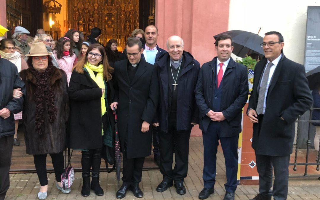 Fundación Cajasol y Diputación de Huelva posibilitan la remodelación de la iglesia de San Sebastián en Higuera de la Sierra