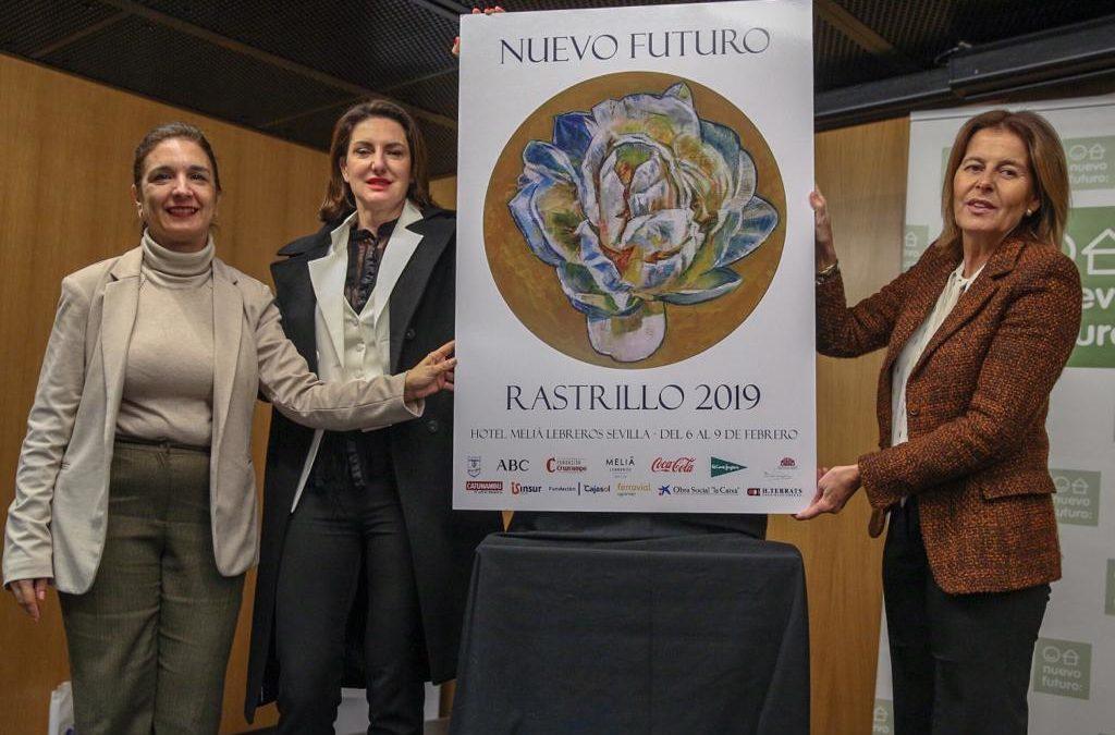 Cartel del Rastrillo 2019 de la Asociación Nuevo Futuro Sevilla