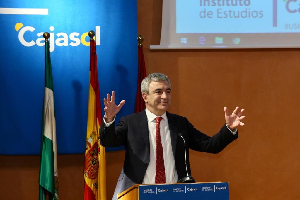 Conferencia de Luis Garicano en el Instituto de Estudios Cajasol