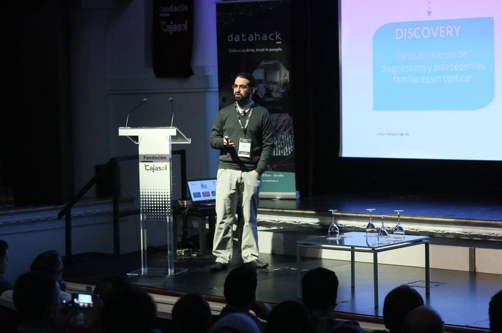 I Congreso Big Data & Analytics de Datahack y Fundación Cajasol en Sevilla