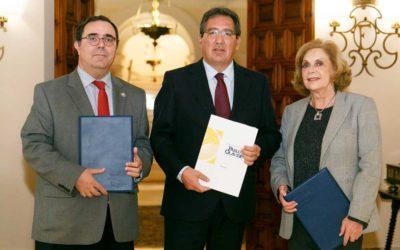 La Fundación Cajasol mantiene su compromiso y colaboración con la Universidad Pablo de Olavide