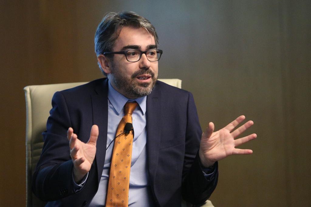 Jesús García en el Aula de Cultura de ABC de Sevilla