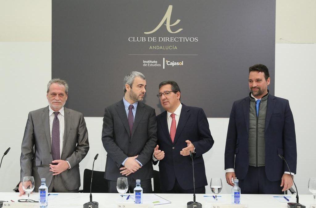 El Presidente y Consejero Delegado de AENA, Maurici Lucena Betriu, en el Club de Directivos Andalucía