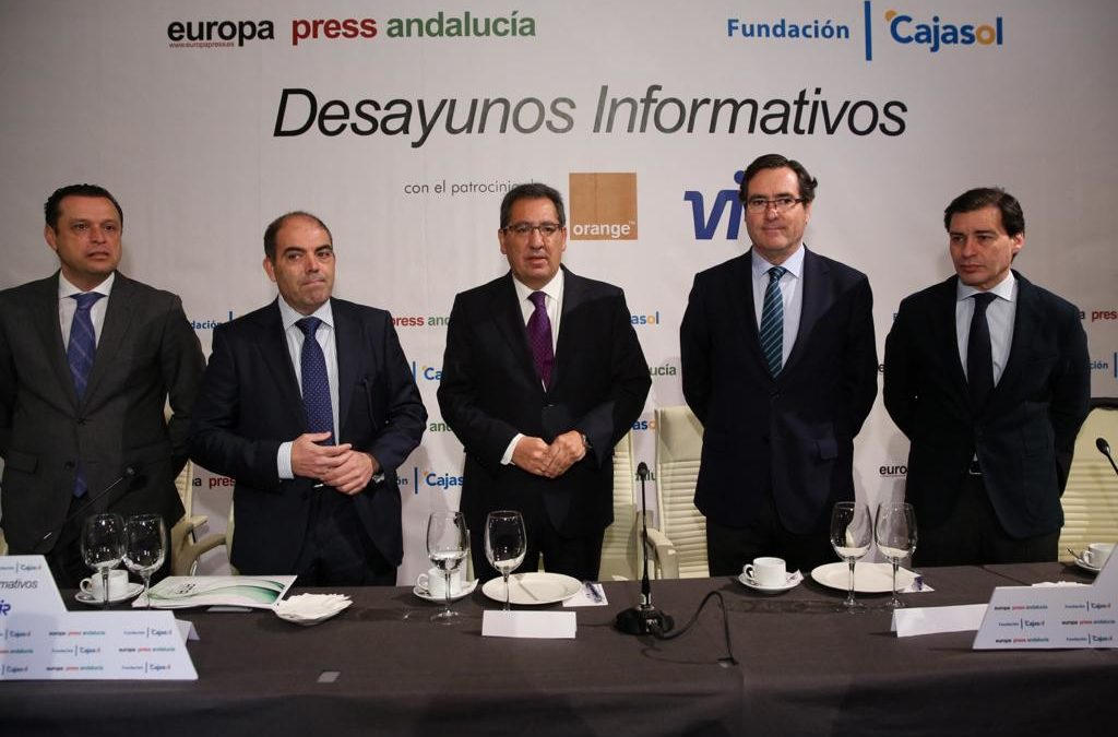 Desayuno Informativo de Europa Press con Lorenzo Amor en Sevilla