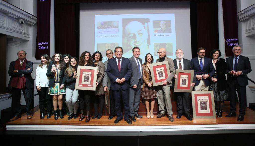 Entrega del XXVII Premio de la Comunicación de la Asociación de la Prensa de Sevilla