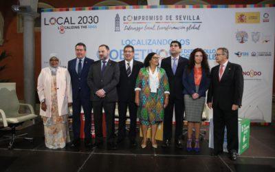 España y la ONU abordan los retos y oportunidades de la implementación de la Agenda 2030 a nivel local en la Fundación Cajasol