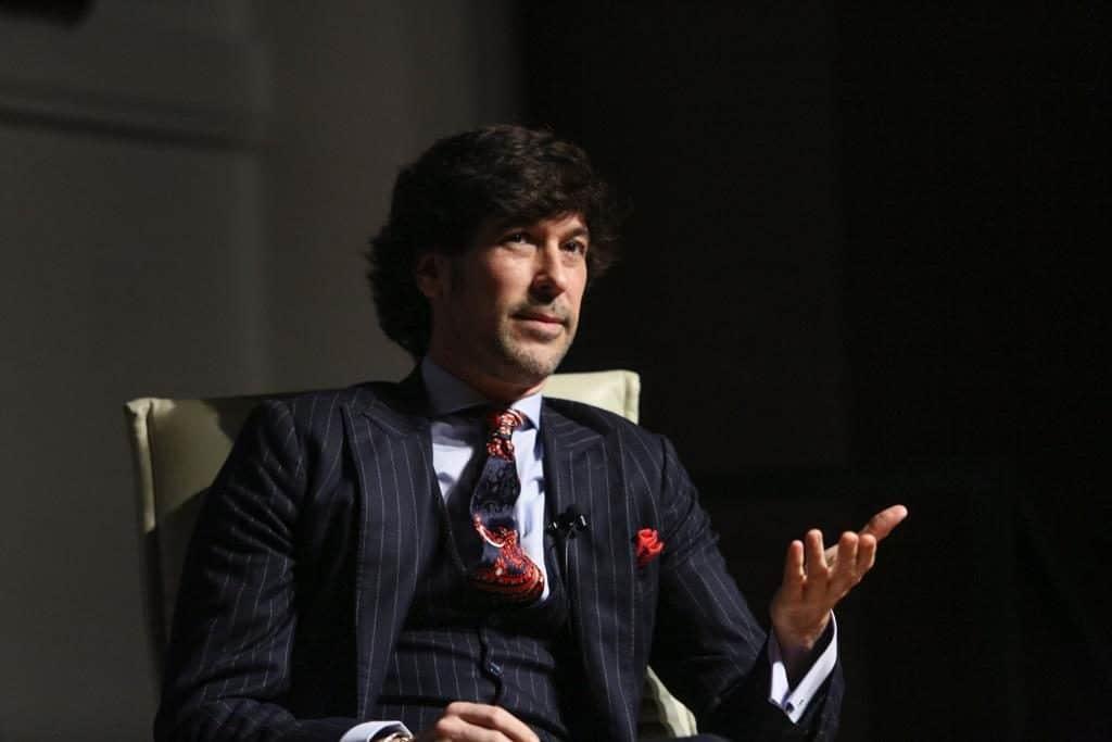 Manuel Lombo en los Mano a Mano de la Fundación Cajasol en Sevilla