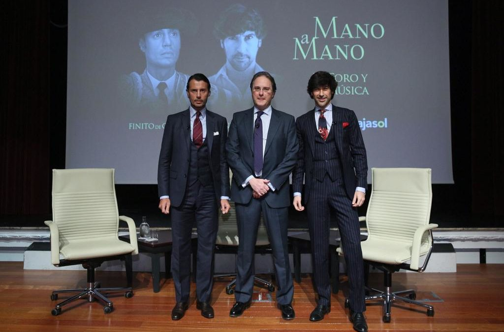 Finito de Córdoba y Manuel Lombo, 'Mano a Mano' en la Fundación Cajasol