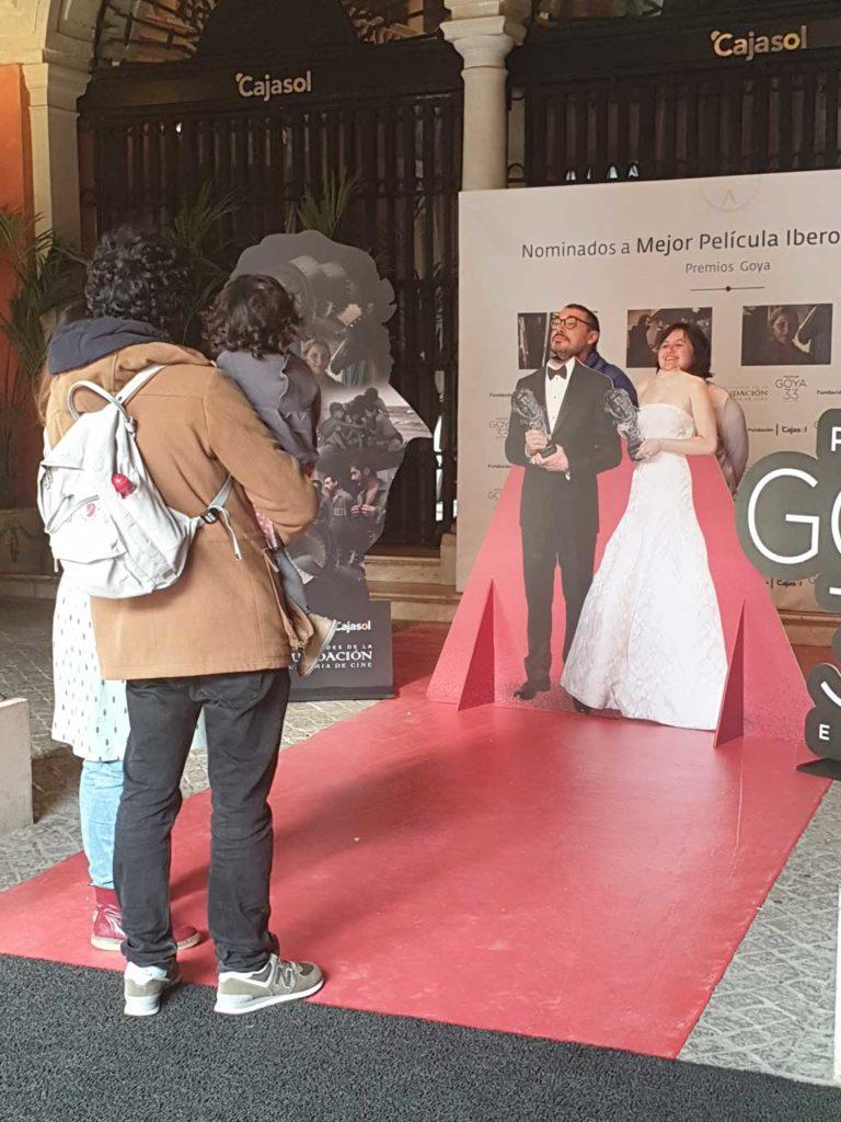 Photocall en la Fundación Cajasol con motivo de los Goya 2019