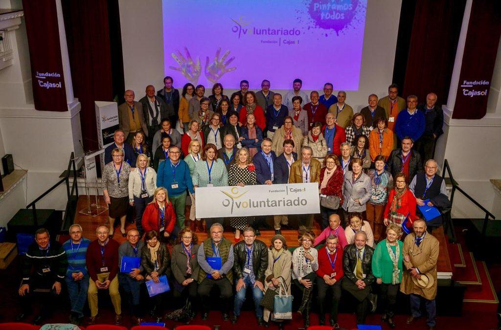 XII Encuentro del Voluntariado en la Fundación Cajasol: ¡Aquí pintamos todos!