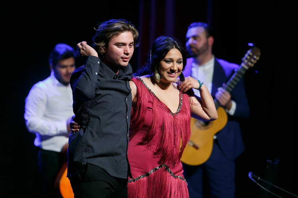 Anabel Valencia y Manuel de la Tomasa presentan 'Territorio joven' en los Jueves Flamencos