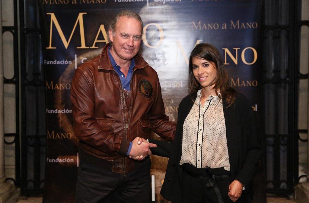 Lea Vicens y Bertín Osborne, 'Mano a Mano' en Sevilla